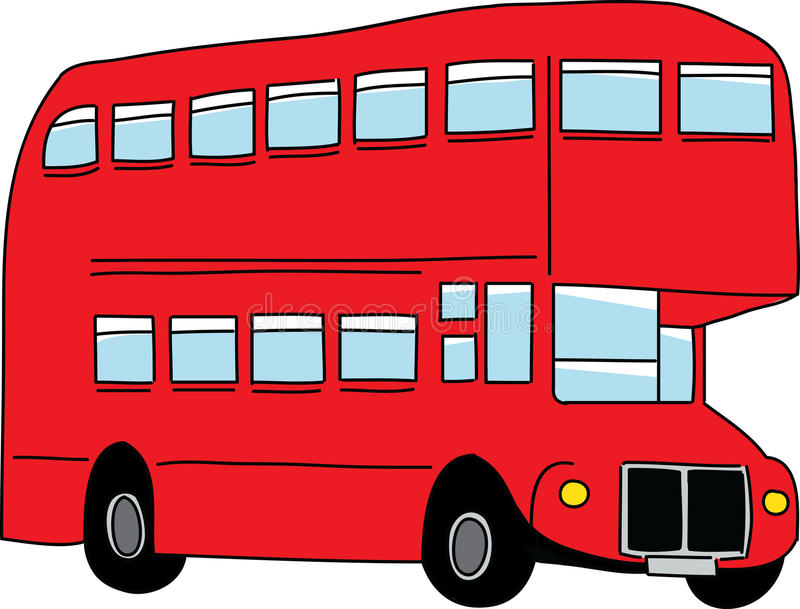 london bus stock vector illustration of country background 24178459 rh dreamstime com Bussing Tables Clip Art for Your Own clipart english double decker bus