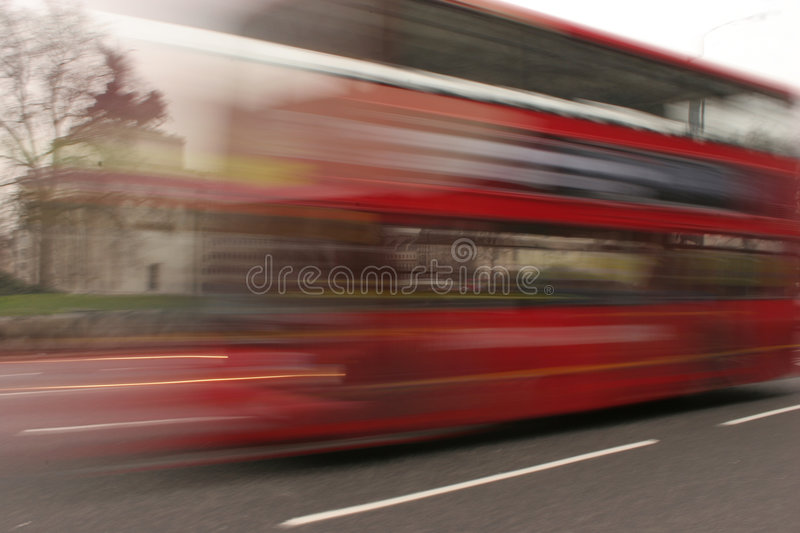 London Bus Almost royalty free stock images