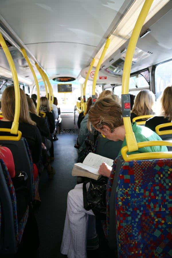 London Bus Commuter Editorial Photo