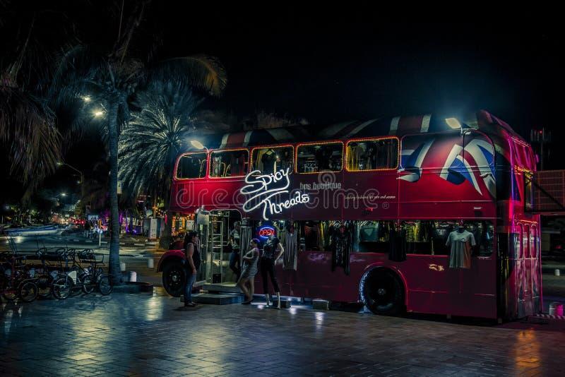 London buss royaltyfri foto
