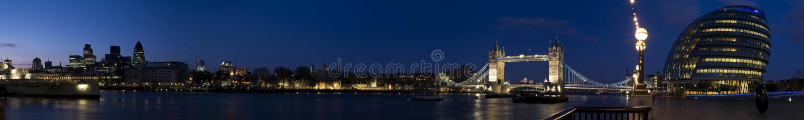 london cantral ogromna panorama obrazy royalty free