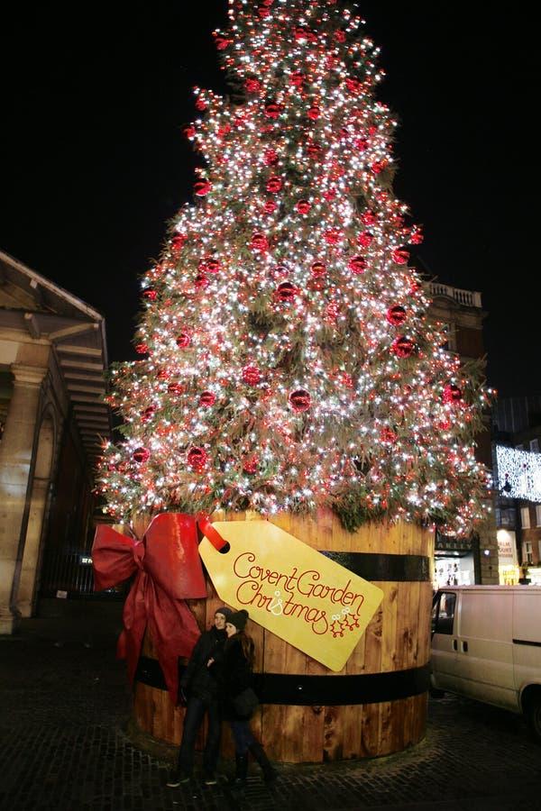 2013, London Christmas Decoration, Covent Garden stock image