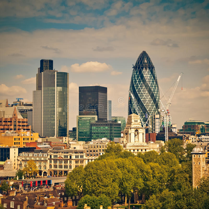 Download London City stock image. Image of contemporary, capital - 27031887