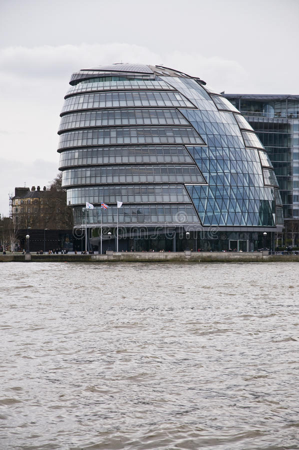 London city hall. Photo of the London city hall during the day stock photos