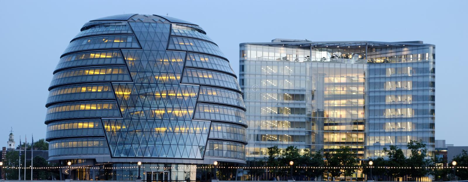London City Hall - 2. London City Hall is the headquarters of the Greater London Authority and the Mayor of London. It stands on the south bank of the River stock photo