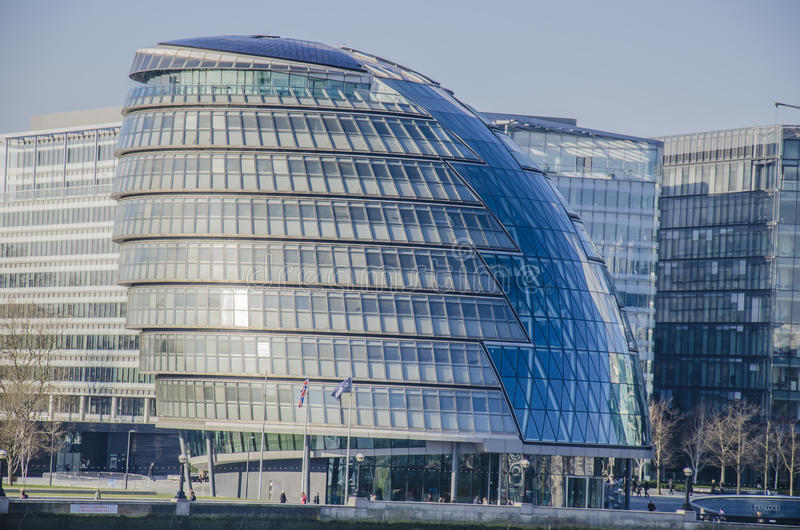 London city hall. In london, england stock image