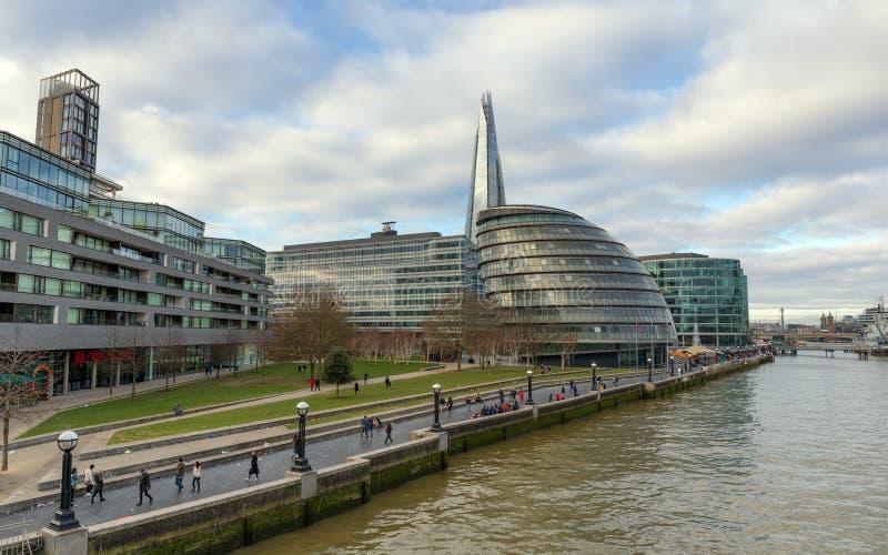 London City Hall, United Kingdom. royalty free stock image
