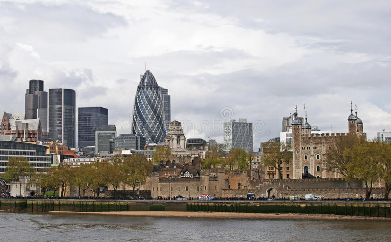 London Cityscape stock image