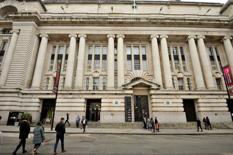 London County Hall es un edificio en Londres que era la sede del Concejo del Condado de Londres foto de archivo