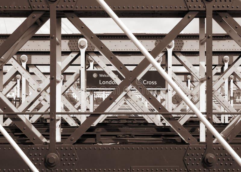 London Cross stock image