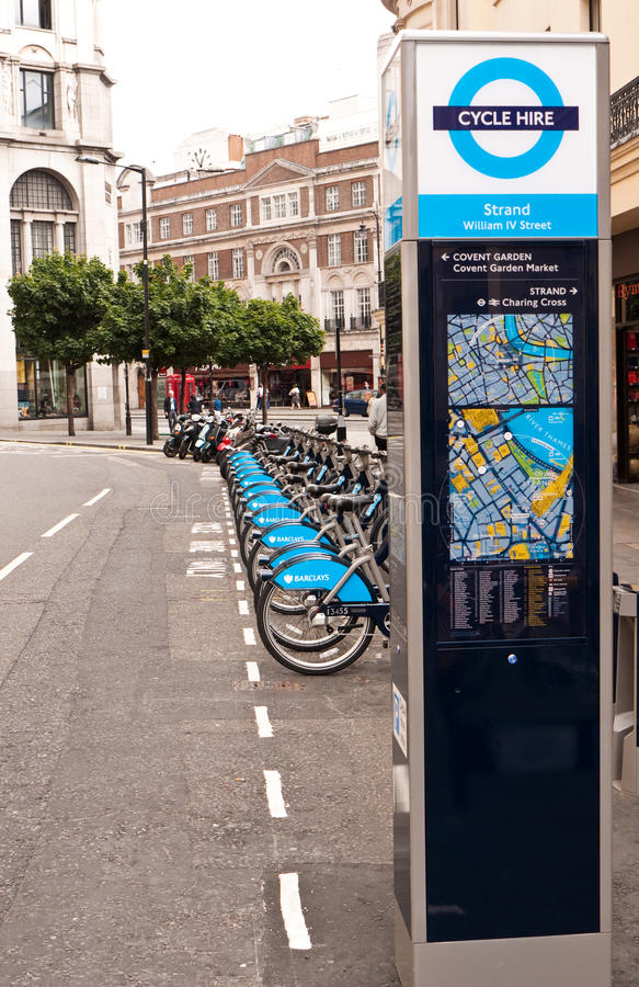 Download London Cycle Hire editorial image. Image of travel, paths - 15410860