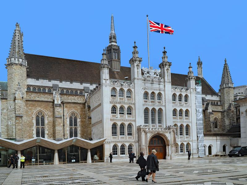 LONDON - Das Rathaus stockfotografie