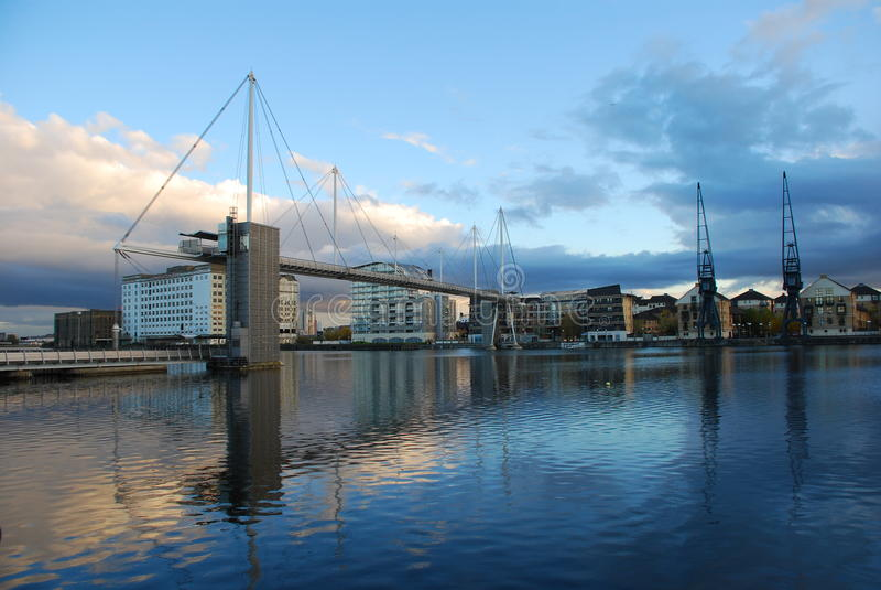 Download Royal Victoria Dock Bridge, London Docklands Stock Image - Image of bridge, england: 17006937