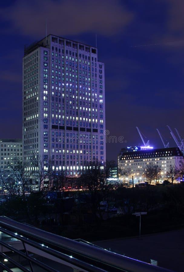 london drapacz chmur zdjęcie stock