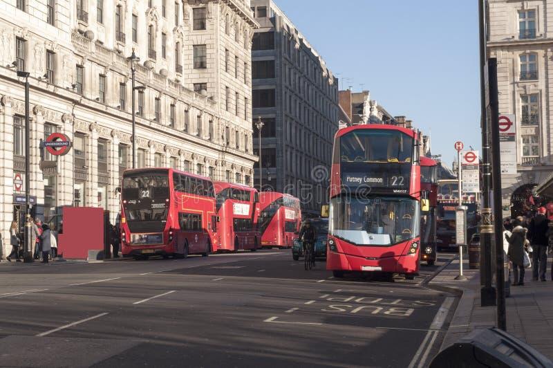 London dubblett-däck royaltyfria bilder