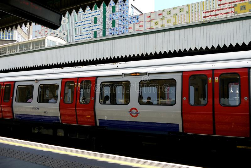 London: Edgware Road tube station h royalty free stock photography