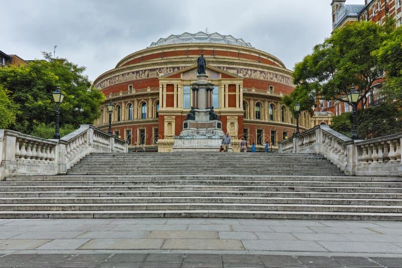 Amazing view of Royal Albert Hall, London, Great Britain stock photo