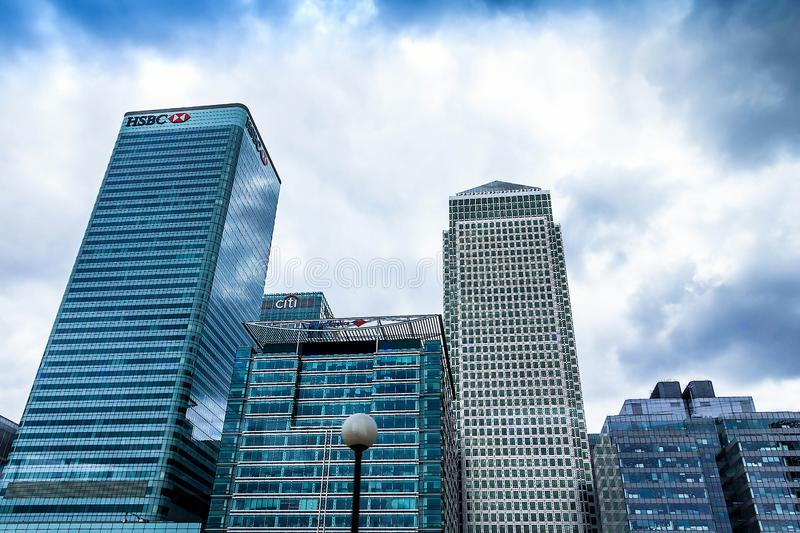 Credit Suisse Offices In Canary Wharf Editorial Photo - Image of