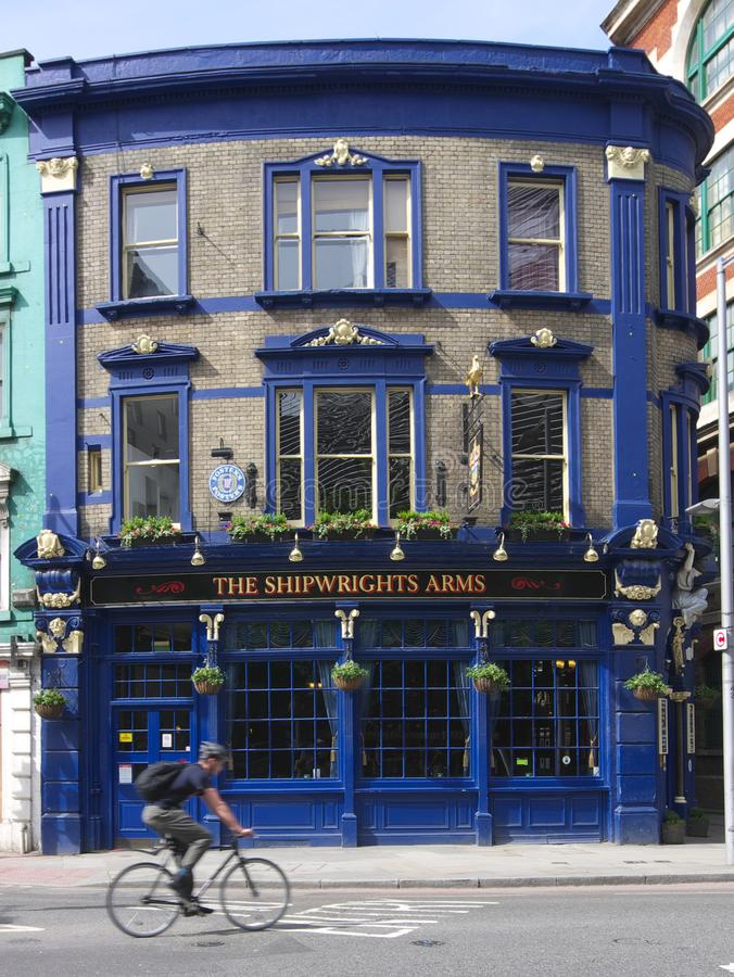 `The Shipwrights Arms` Classic English Pub royalty free stock image