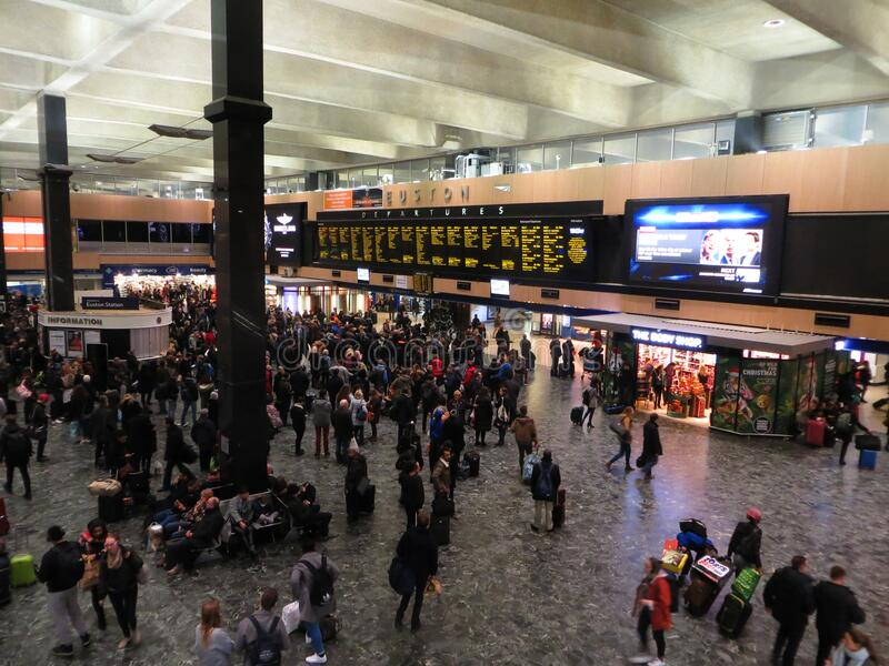 London Euston Station Free Public Domain Cc0 Image