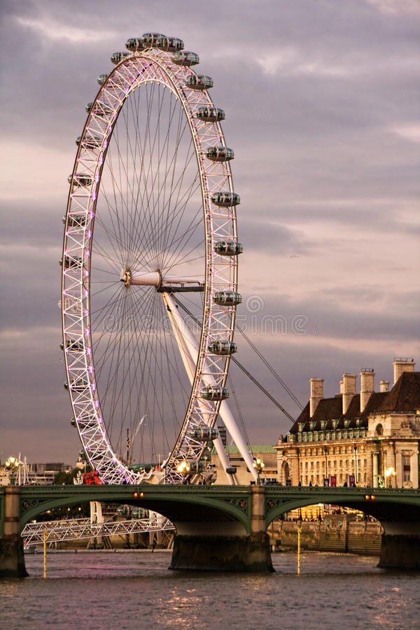 Download London Eye editorial image. Image of attraction, wheel - 11278475