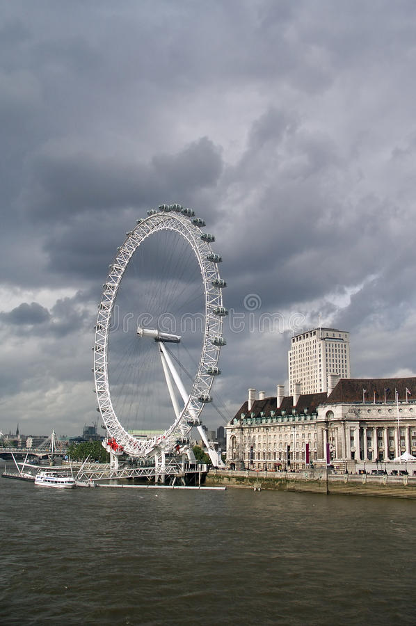 Free London Eye Stock Image - 12735451