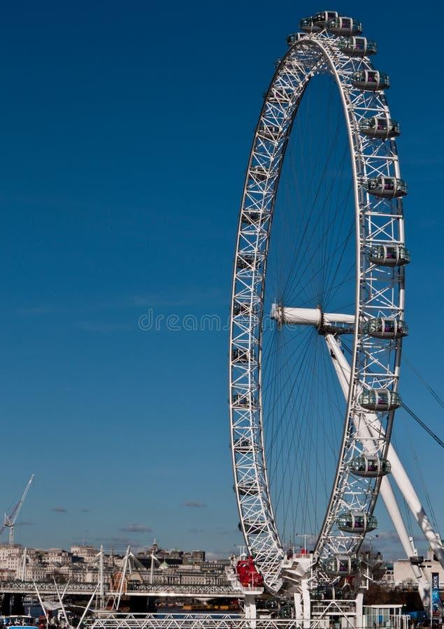 Download The London Eye editorial stock image. Image of bridge - 13332714