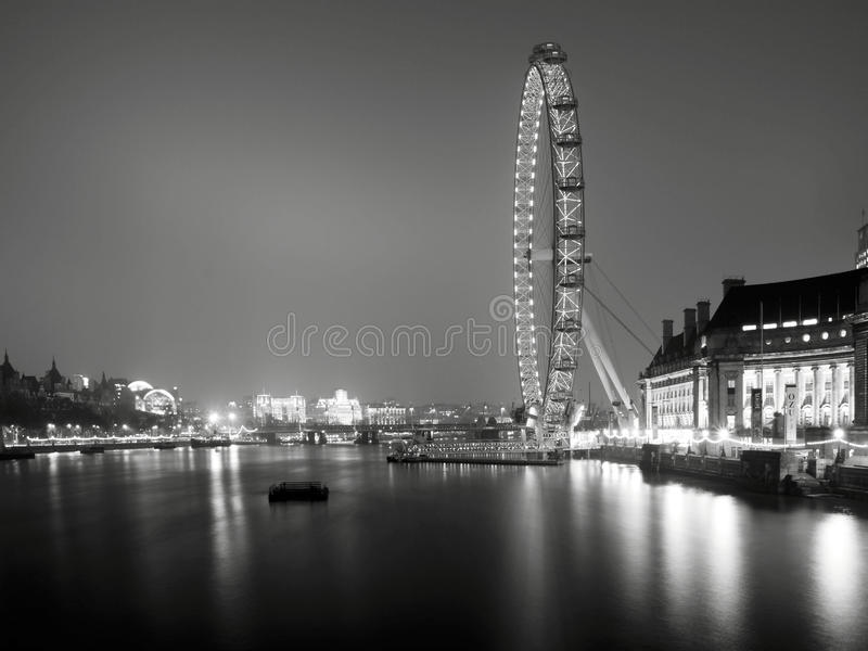 Download London Eye editorial image. Image of night, county, london - 18939645