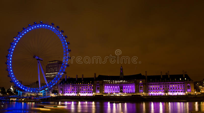 Download London eye editorial stock image. Image of design, famous - 21509374