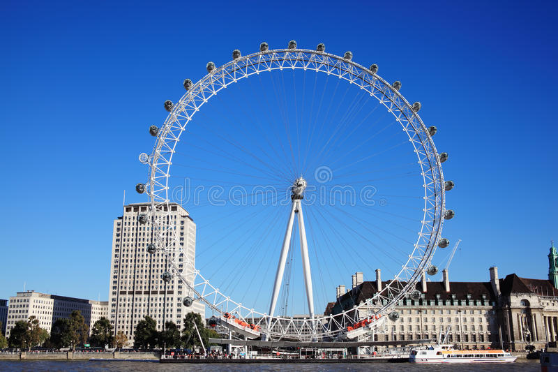 Download The London Eye Editorial Stock Image - Image: 21600359