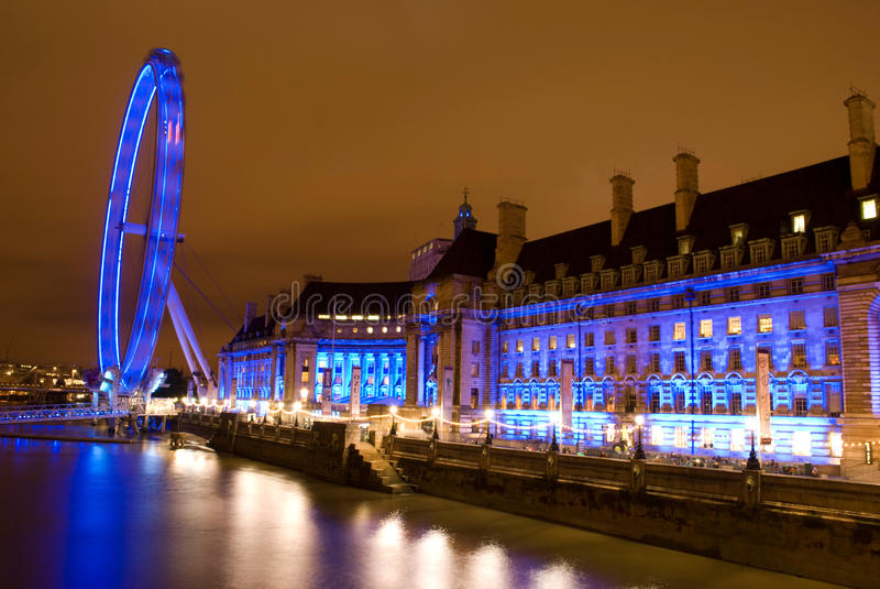 Download London eye editorial stock image. Image of reflection - 21721079