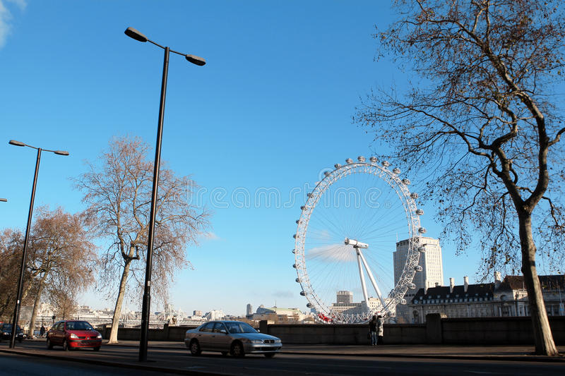 Download London Eye editorial stock photo. Image of tree, trees - 23242383