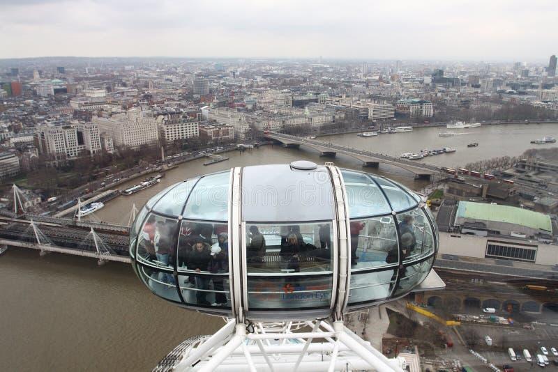 Download London Eye editorial stock image. Image of crowd, ferris - 24053999