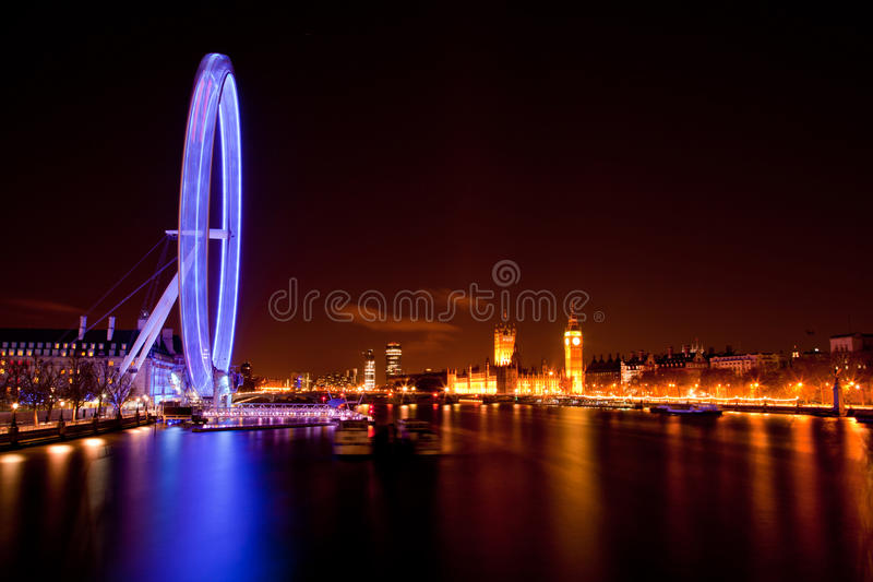 Download London Eye editorial stock photo. Image of built, england - 24446633