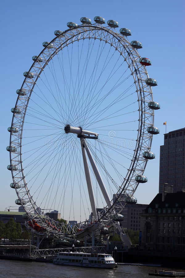 Download London Eye editorial stock image. Image of observation - 24989639