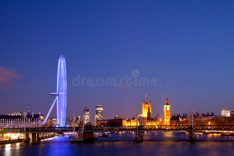Download London Eye editorial stock image. Image of parliament - 27667574