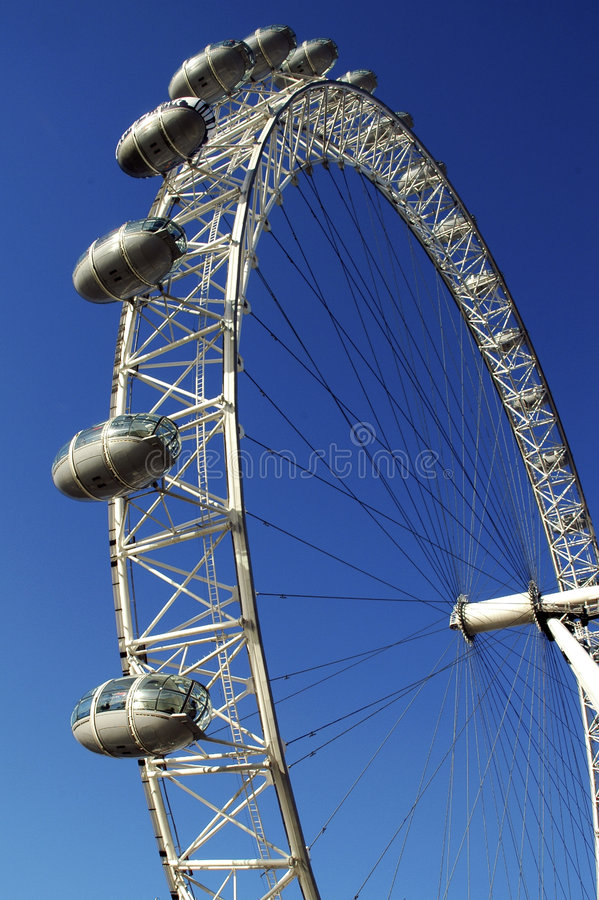 Download The London Eye editorial stock image. Image of wheel, britain - 8738949