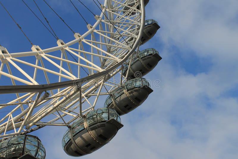 London Eye close-up royalty free stock photos