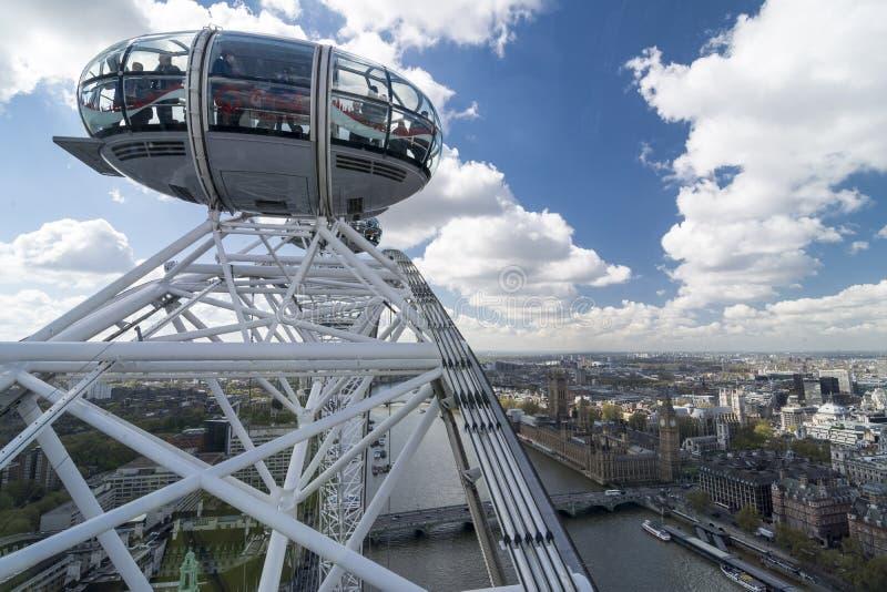 London Eye royalty free stock image