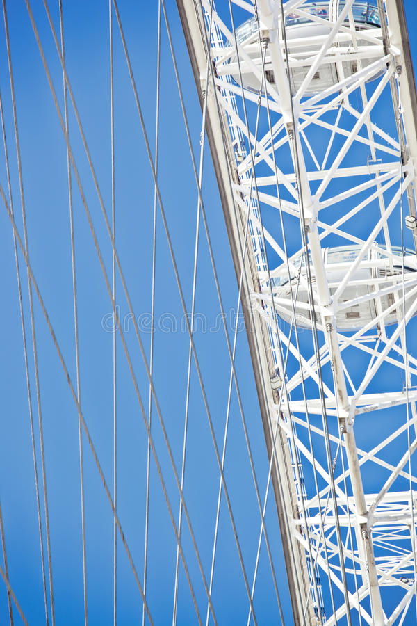 Download London eye details editorial stock image. Image of places - 25104284