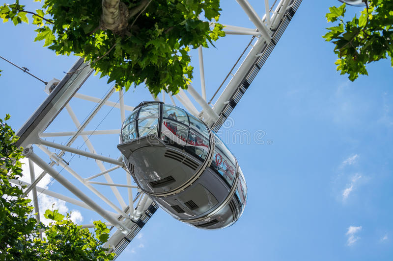 London Eye Gondola stock images