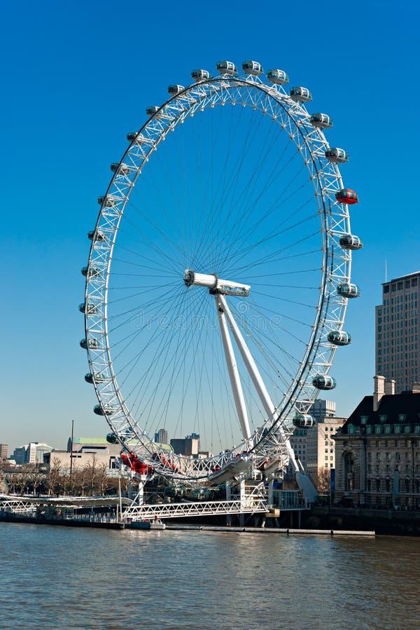 London Eye, London, UK Editorial Photo