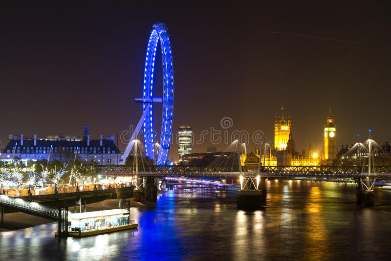 Download London Eye And Parliament Building Editorial Stock Photo - Image: 22161298
