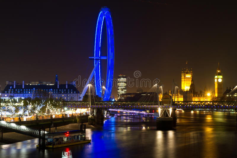Download London Eye And Parliament Building Editorial Stock Image - Image: 22161569