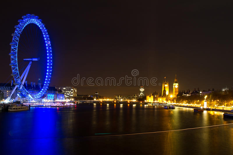 Download London Eye And Parliament Building Editorial Stock Image - Image: 22412919
