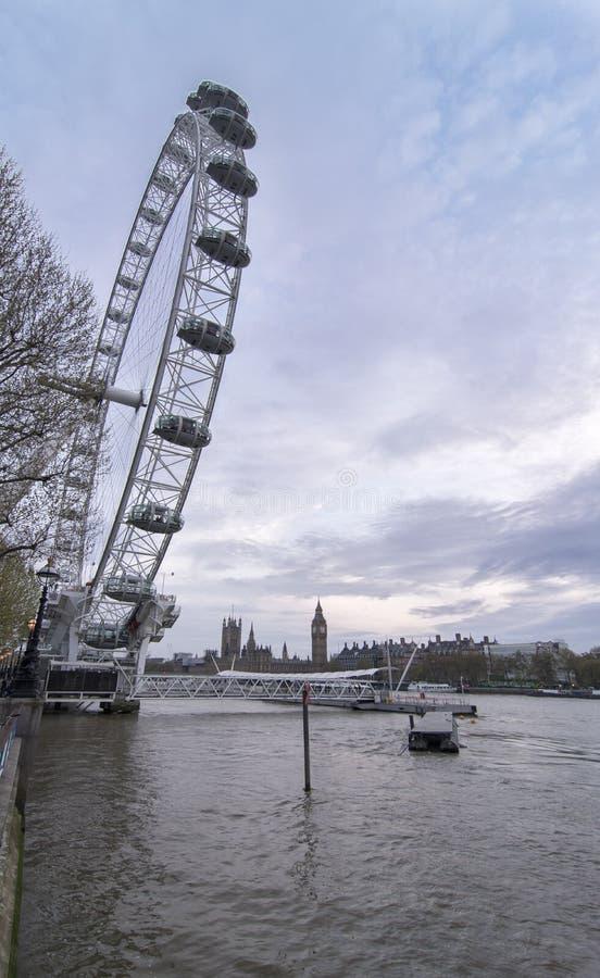 London Eye stock photos