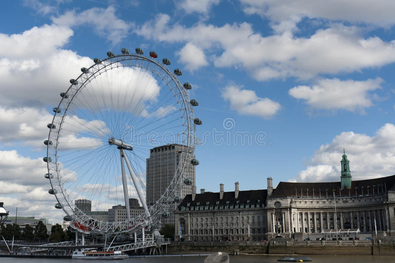 Download The London Eye And The Thames River Editorial Stock Image - Image: 21585354