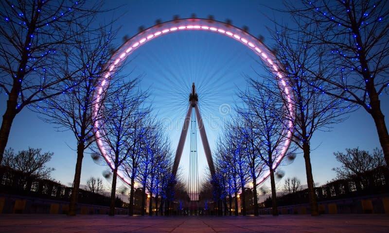 London Eye, UK stock photo