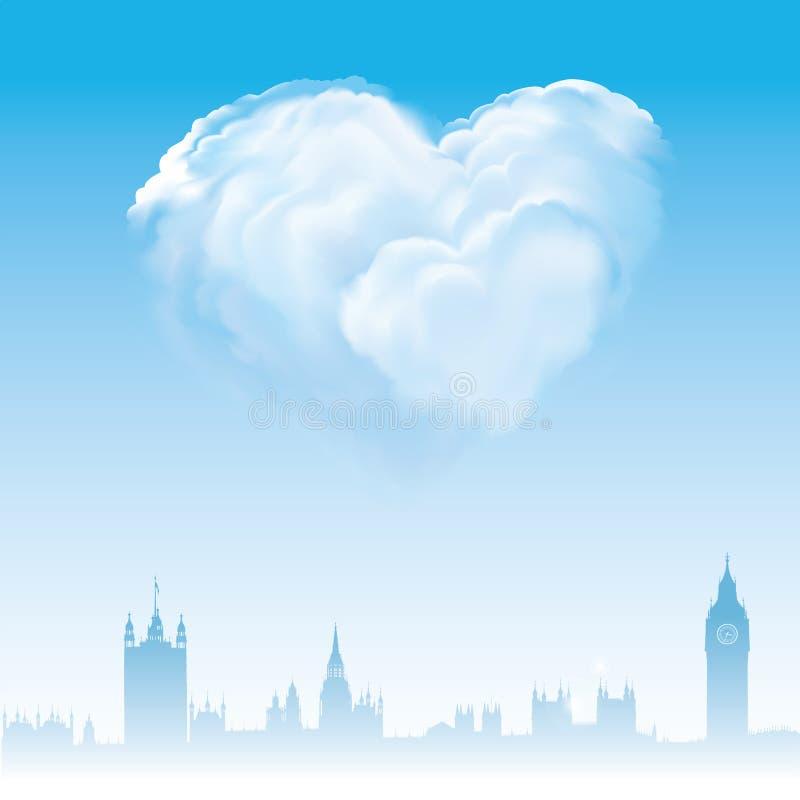 Download London Förälskelseförbindelse Stock Illustrationer - Illustration av landmark, gift: 19791565