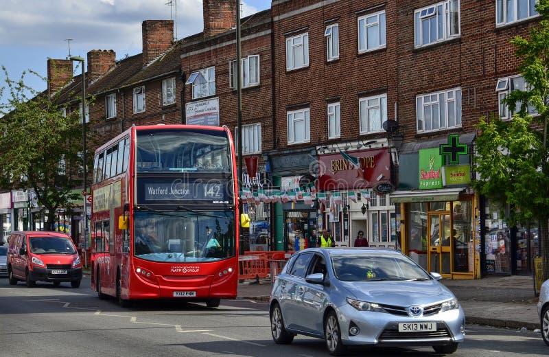 London F?renade kungariket, Juni 14 2018 arkivbilder